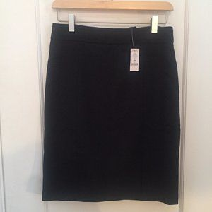 White House Black Market Black Pencil Skirt NWT